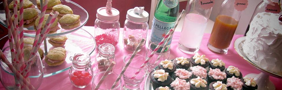 Les recettes de la sweet table à la vente de Chez Laurette