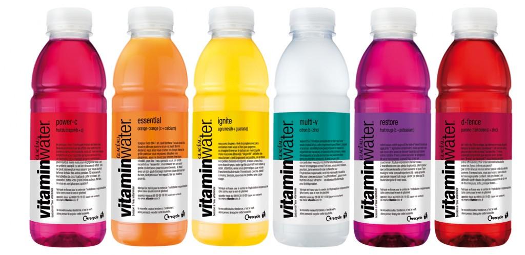 vitaminwater-gamme