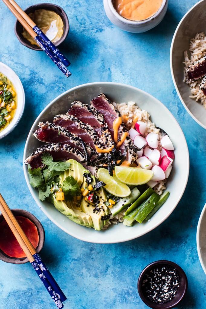 Spicy-Brown-Rice-Seared-Tuna-Roll-Bowl-5