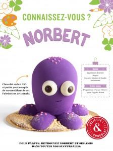 norbert-la-pieuvre Juliette et chocolat